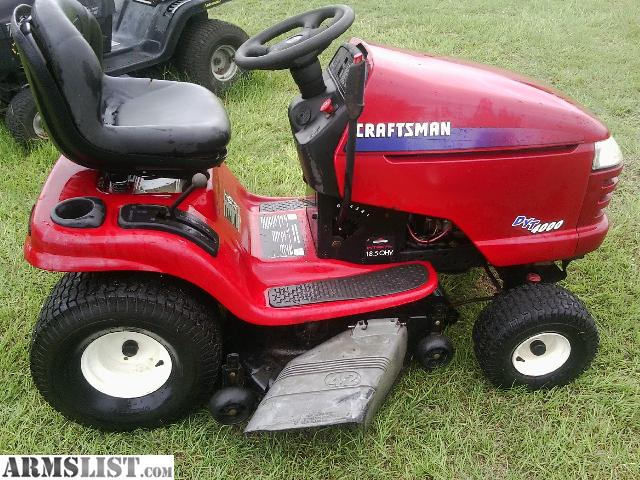 ARMSLIST For Sale CRAFTSMAN GARDEN TRACTOR