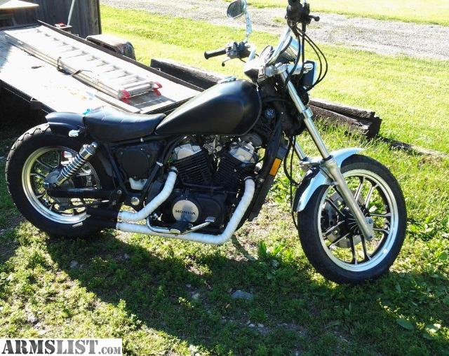 armslist for sale trade 1984 honda vt500 bobber. Black Bedroom Furniture Sets. Home Design Ideas