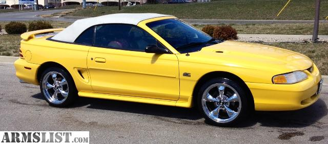 armslist for sale 1995 mustang gt 5 0 auto with 18 bullitts. Black Bedroom Furniture Sets. Home Design Ideas