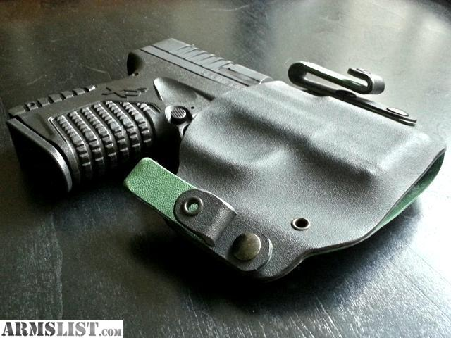 ARMSLIST - For Sale: Springfield XDS Kydex IWB Holster and ...