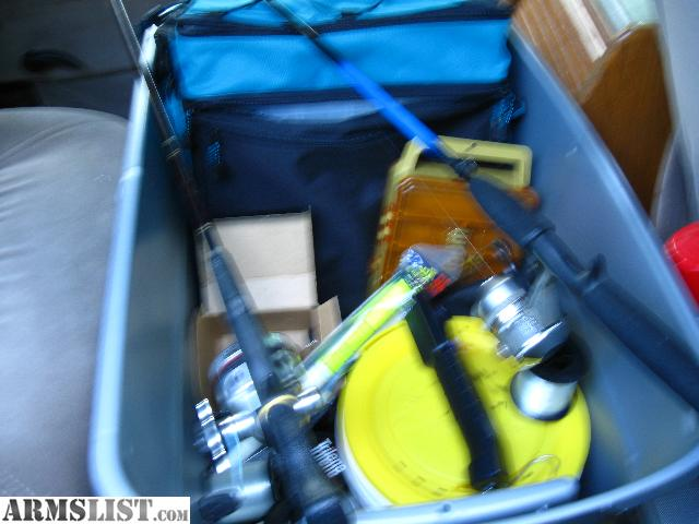 Armslist for sale trade tote of fishing stuff for Fishing stuff for sale