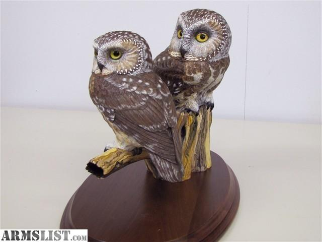 Armslist for sale hand carved saw whet owls