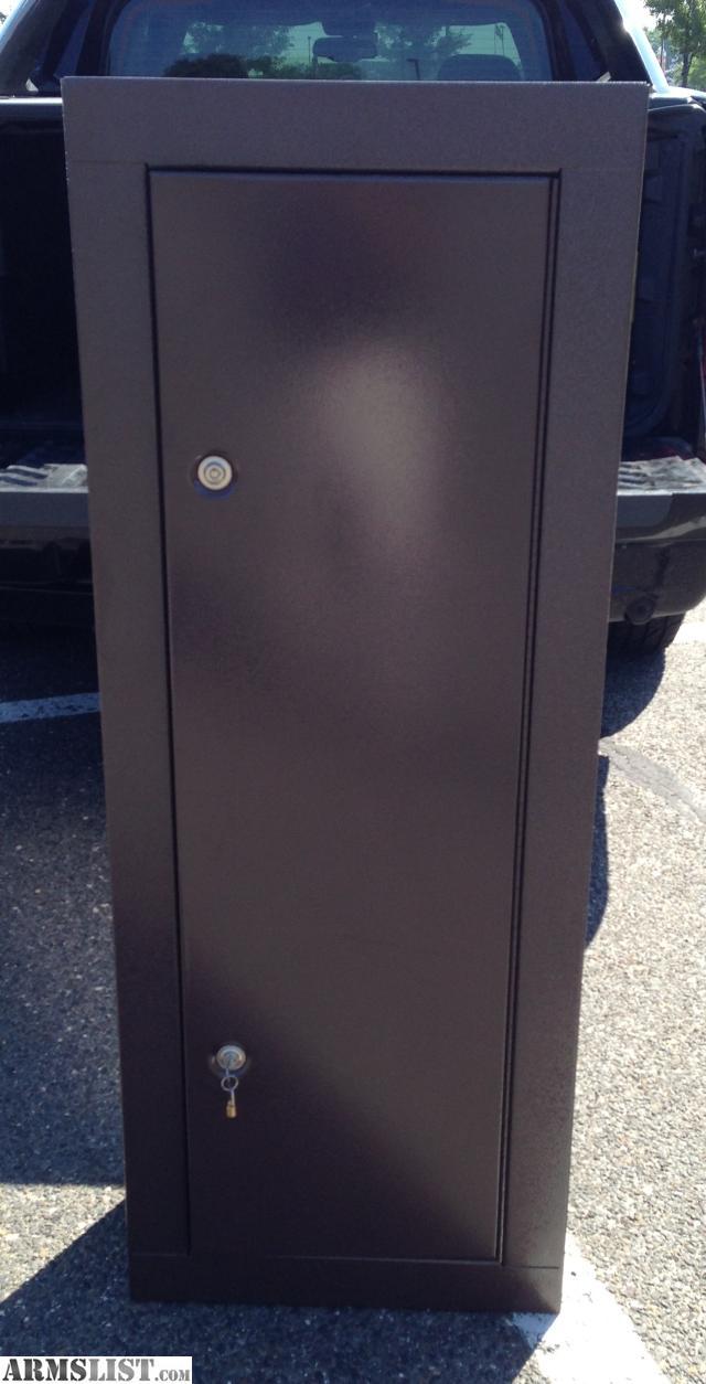 ARMSLIST - For Sale: 8 Gun HOMAK Security Cabinet