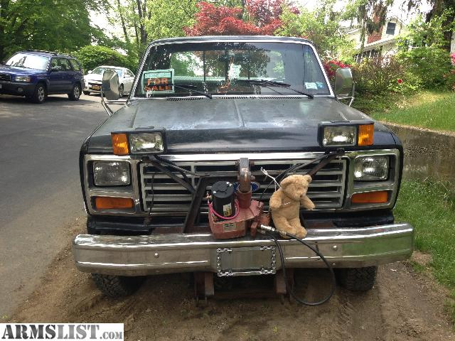 armslist for sale 1985 ford f 250 diesel plow truck. Cars Review. Best American Auto & Cars Review
