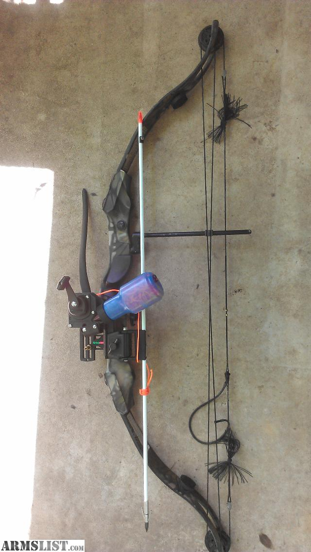Armslist for sale ams bowfishing rig for Bow fishing gear
