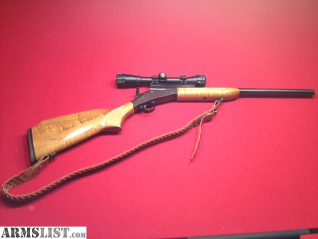 For Sale: H&R Break Action Single Shot .223 W