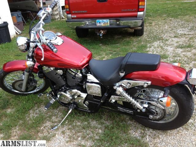 armslist for sale 2003 honda shadow spirit 750 killer bike like new. Black Bedroom Furniture Sets. Home Design Ideas