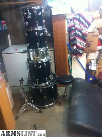 armslist for sale trade ludwig drum set trade for. Black Bedroom Furniture Sets. Home Design Ideas