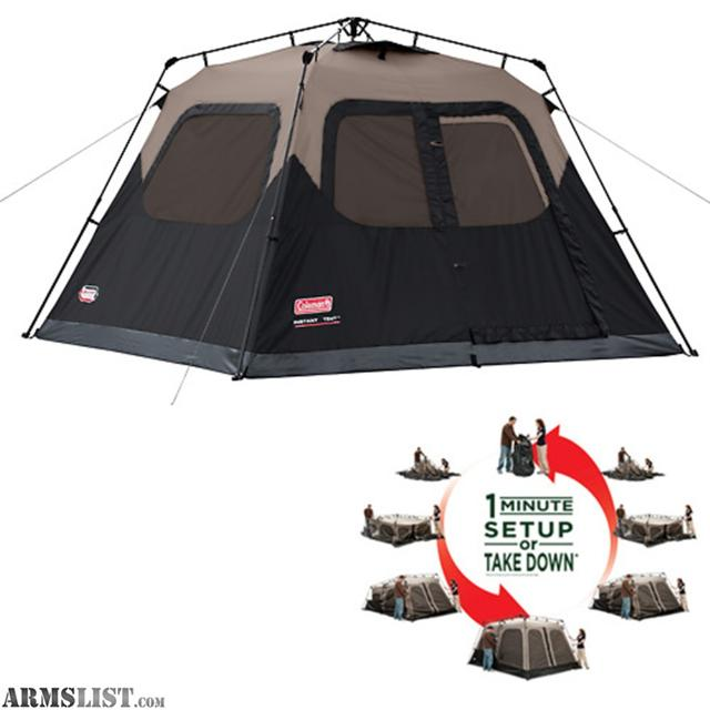 Armslist for sale complete coleman camping set up for 2 for Camping a couture 49