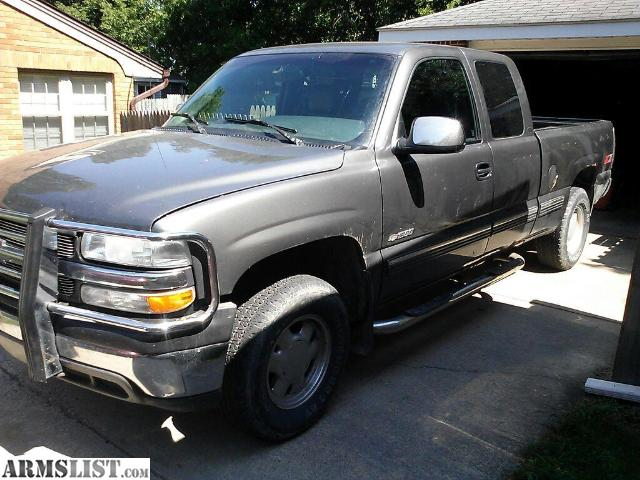 armslist for sale 2000 chevy silverado z71. Black Bedroom Furniture Sets. Home Design Ideas