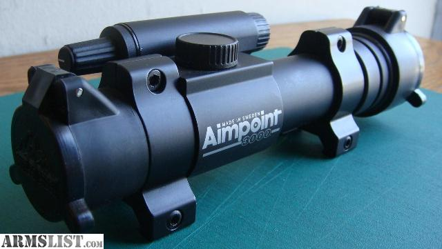 Armslist For Sale 4 Moa Aimpoint Reflex Sight With Flip