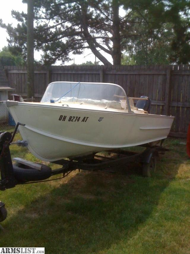 Armslist for sale 16 39 boat for trade for Fishing boats for sale in ohio