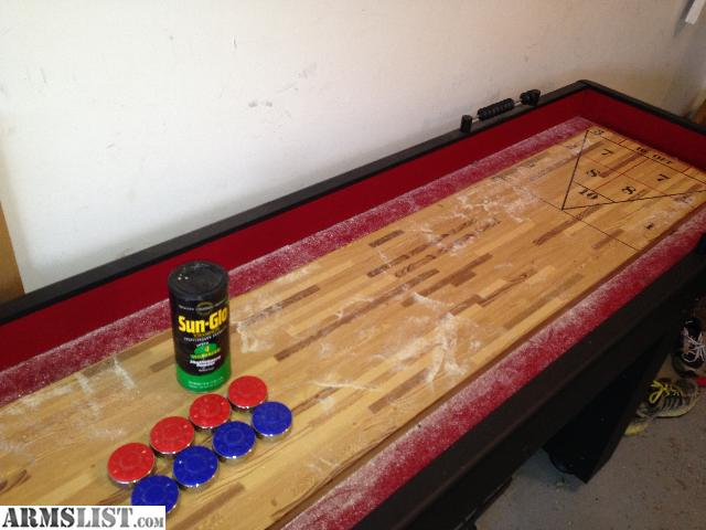 For Sale: Full Size 9 Foot Shuffleboard Table