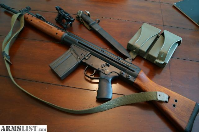 Cetme G3 For Sale: For Sale: SOLD CAI Cetme .308 (7.62) Wood Stock