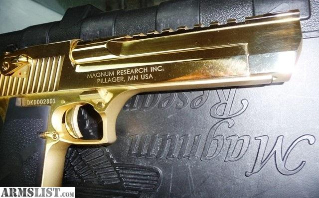 Pictures of Desert Eagle Gold Plated - #rock-cafe