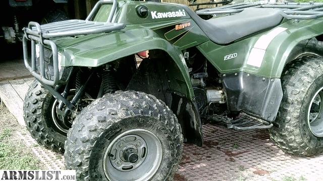 ARMSLIST - For Sale/Trade: 2001 kawasaki 220 bayou