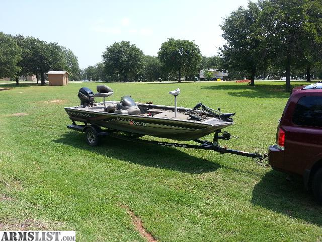 Armslist for sale 2000 bass tracker pro team 175 for Bass pro fishing sale