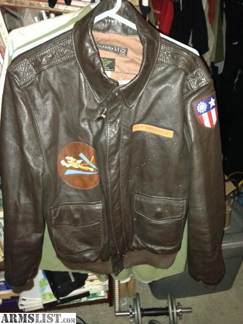 ARMSLIST - For Sale: Flying Tigers AVG Flight Jacket