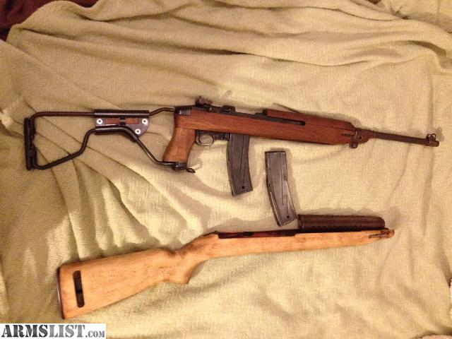 dating a universal m1 carbine