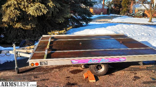armslist - for sale/trade: 1996 sled bed 8.5 x 10 aluminum tilt