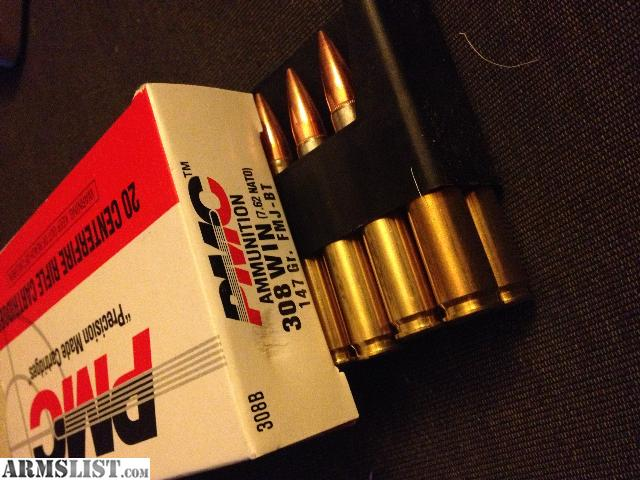 ARMSLIST - For Sale: 9mm FMJ/hollow point, .308 FMJ, .22LR