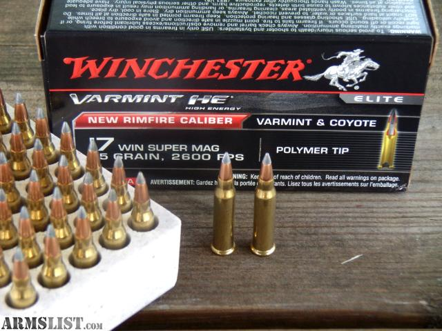 ARMSLIST For Sale Trade 17 Winchester Super Mag 17 WSM