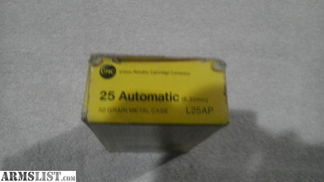 Armslist for sale 2 boxes of 25 auto ammo for 2 1 2 box auto