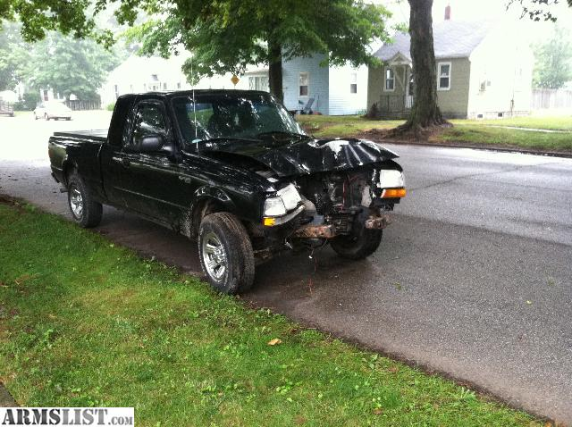 i have a 2000 ford ranger for sale 30 engine wauto trans its black in color it has good tires all around and runs good the bad thing is its wrecked - 2000 Ford Ranger Black