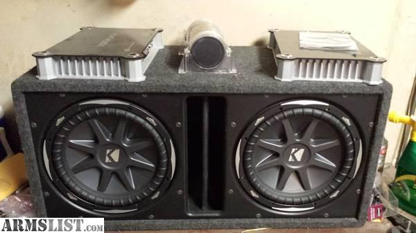 armslist for sale trade wtt car audio system for 300 blackout. Black Bedroom Furniture Sets. Home Design Ideas
