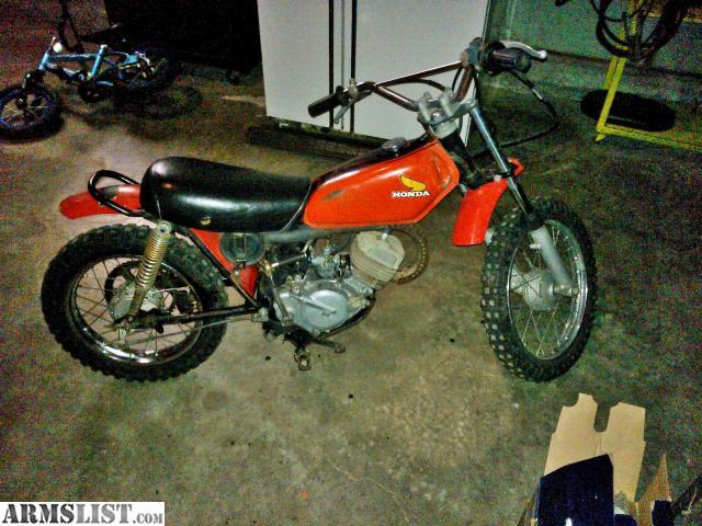 ARMSLIST - For Trade: 1974 Elsinore Honda 50cc Dirt bike