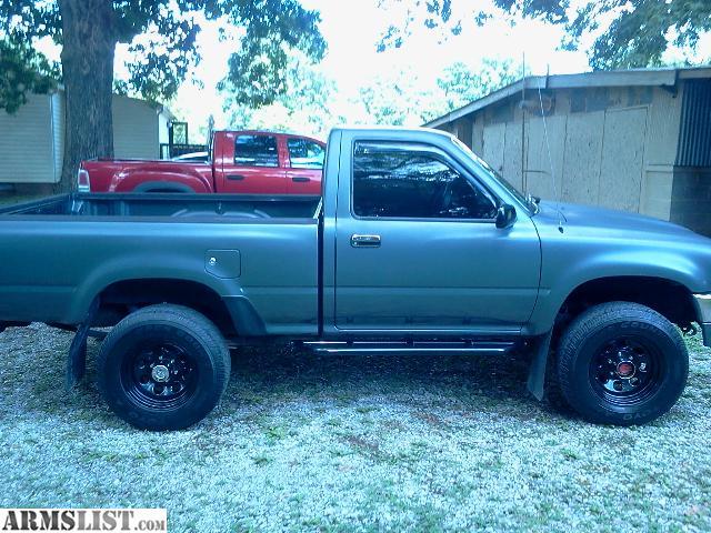 Armslist  Trade  1993 Toyota 4 4 Pickup 22r