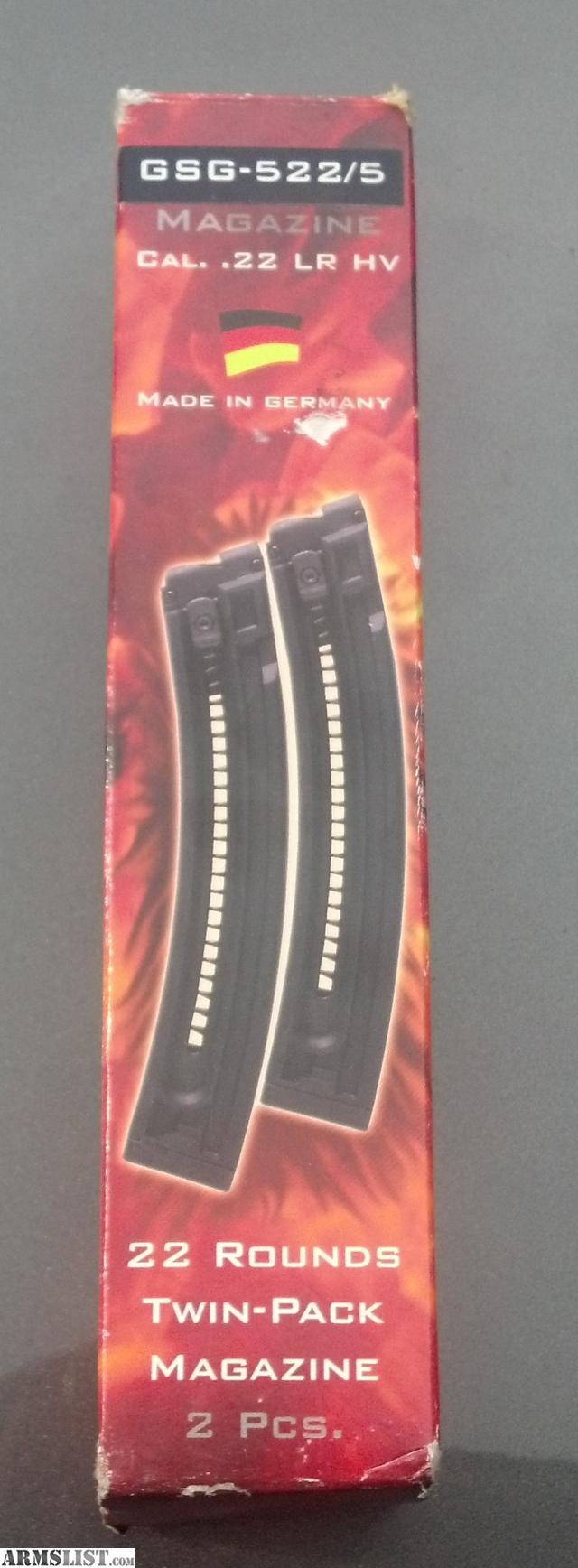 For Sale: GSG 522 MAGAZINE BRAND NEW!!!! 22 Rounds