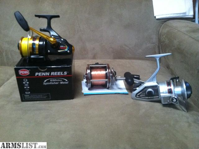 Armslist for sale penn saltwater reels for Used saltwater fishing reels for sale