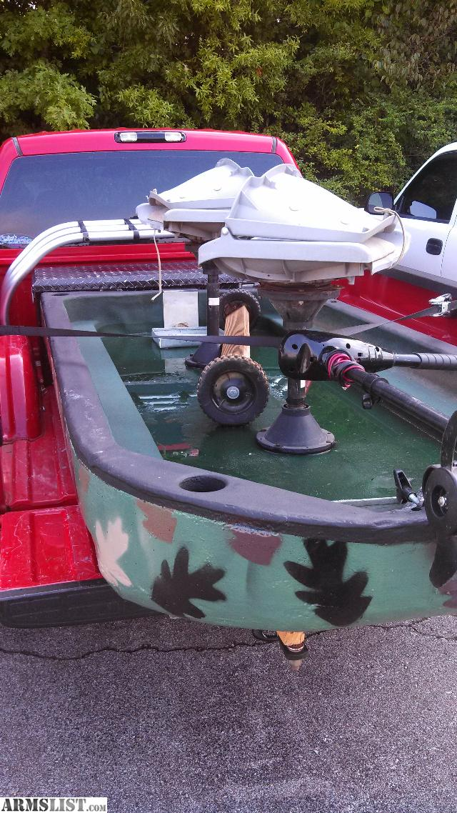 Armslist For Sale Trade 8ft Pond Fishing Boat