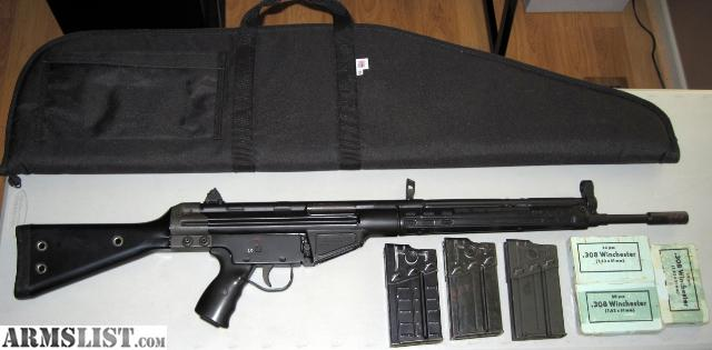 Cetme G3 For Sale: For Sale: CETME (HK 91/G3 Clone) .308 Rifle