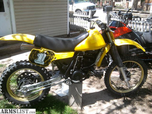 armslist for trade 1982 yamaha yz490