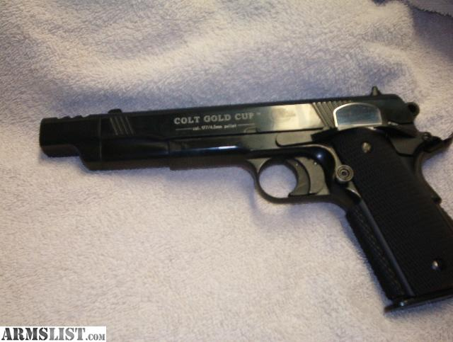 Armslist For Trade Colt 1911 Gold Cup Compensated Co2