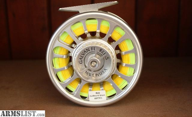 Armslist for sale beulah fly fishing surf rod galvan for Fly fishing reels for sale