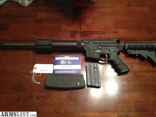 Armslist For Sale Colt Ar 15 Le6900