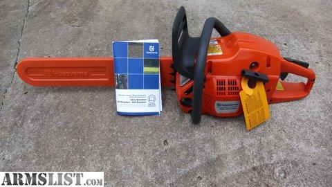 husqvarna chainsaw 455 rancher manual