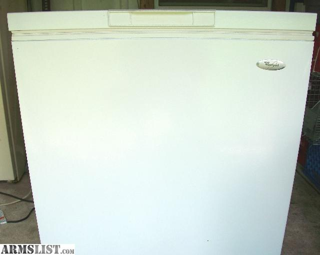ARMSLIST - For Sale: Whirlpool 7 cu ft chest freezer