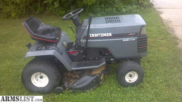 Old Craftsman Lawn Mowers : Armslist for sale craftsman riding lawn mower