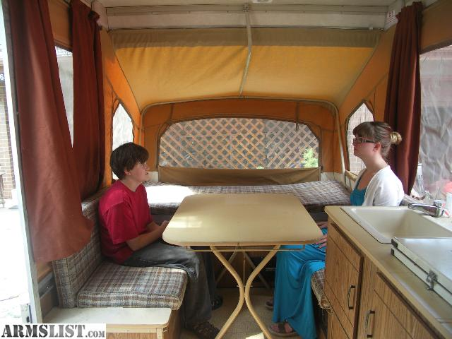Armslist For Trade 86 Coleman Redwood Pop Up Camper For
