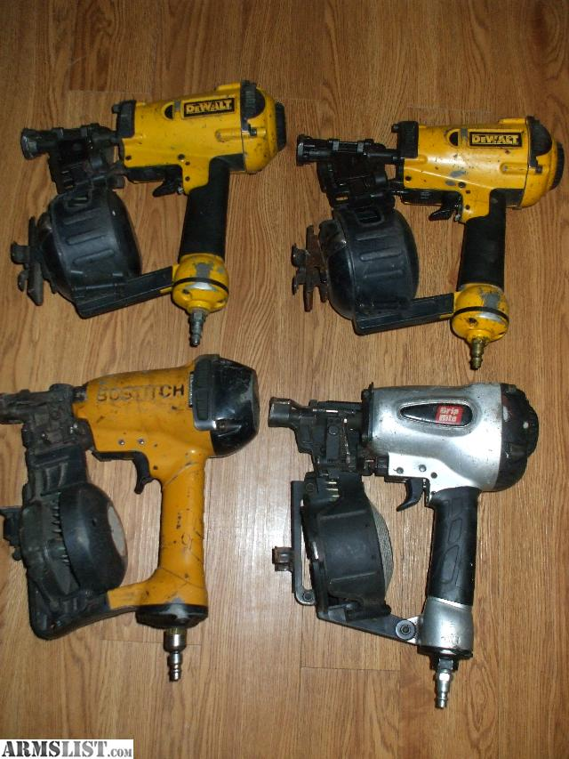 Armslist For Trade 4 Roofing Nail Guns Quot Dewalt
