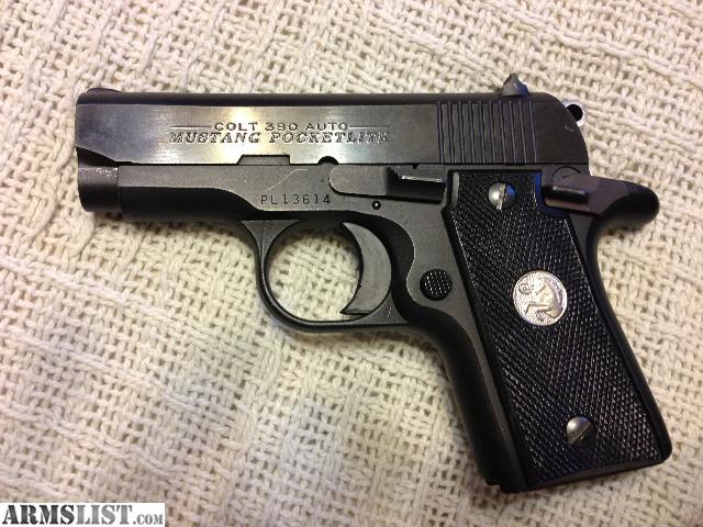 Armslist For Sale Colt Mustang Pocketlite 380 Original 80 S Edition