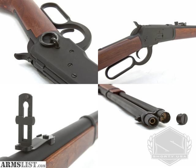 Airsoft lever action shotgun