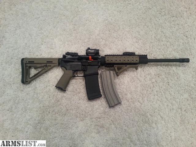 ARMSLIST - For Sale: Olympic Arms AR-15 Magpul