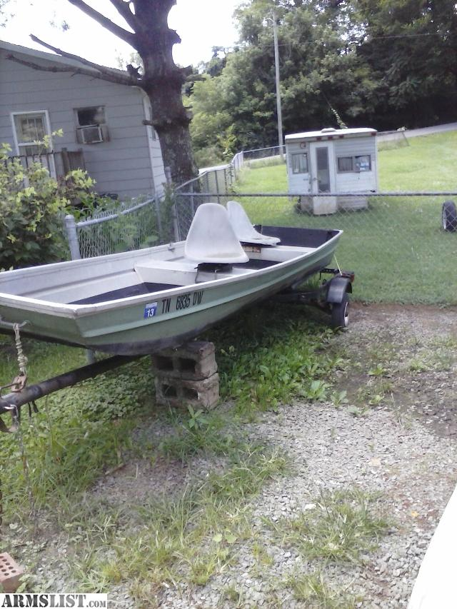 Armslist for sale fs ft 14ft jon boat for 14 ft fishing boat