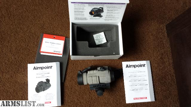 Armslist For Sale Aimpoint Pro Optic With Outer Rubber