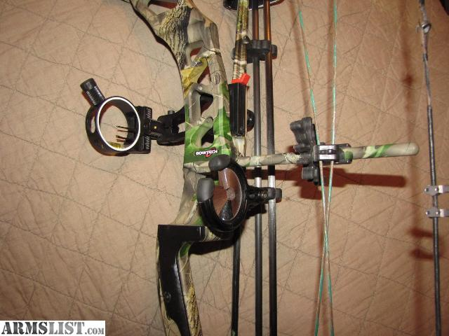 ARMSLIST - For Sale: Bowtech Sniper Bow Package